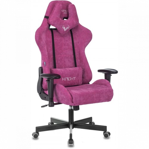 Бюрократ Игровое кресло Zombie VIKING KNIGHT Fabric малиновый (Z-VIKING-KNIGHT-LT-15-MN)
