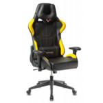 Бюрократ Игровое кресло Zombie VIKING 5 AERO черный/желтый