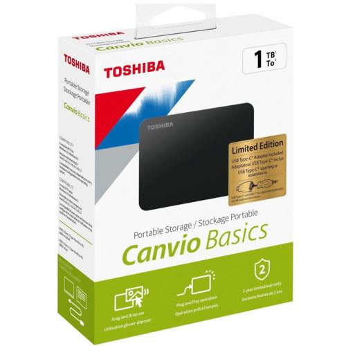 Внешний жесткий диск Toshiba 1 ТБ (HDTB410EK3AB)