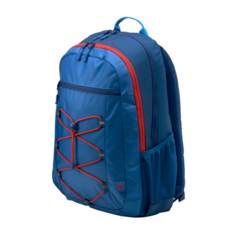 Europe Active Backpack (Marine Blue/Coral Red) 15,6
