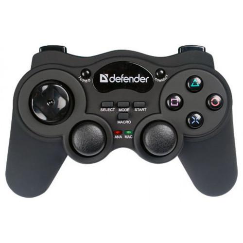 Манипулятор Defender GAME RACER WIRELESS 64259 (64259)