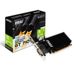 Видеокарта MSI GeForce GT 710 2GD3H LP