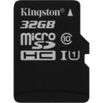 Flash карта Kingston microSDHC Canvas Select 32GB