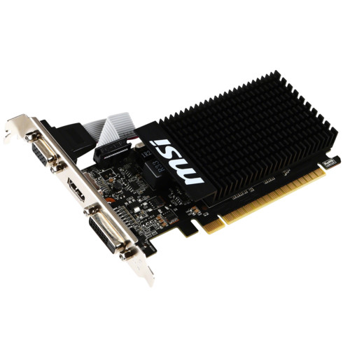 Видеокарта MSI GeForce GT 710 1GD3H LP (GT7101GD3HLP)