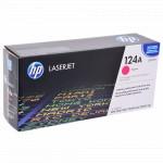 Лазерный картридж HP 124A Пурпурный