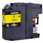 Струйный картридж Brother LC525XLY жёлтый для DCP-J100, DCP-J105, DCP-J200