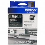 Струйный картридж Brother LC569XL чёрный повышенной ёмкости для MFC-J3520/3720