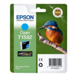 Струйный картридж Epson T1592 голубой
