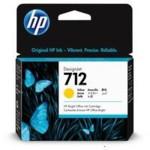 Картридж для плоттеров HP 712 29ml Yellow Ink