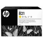 Струйный картридж HP 821A 400ml Yellow