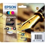 Струйный картридж Epson Набор из четырех картриджей 16XL