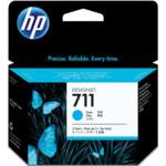 Картридж для плоттеров HP 711 голубой, тройная упаковка