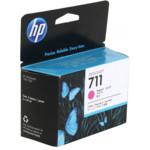 Картридж для плоттеров HP 711 пурпурный, тройная упаковка