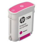 Картридж для плоттеров HP №728 пурпурный