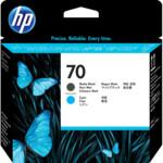 Картридж для плоттеров HP 70 матово/черный + синий