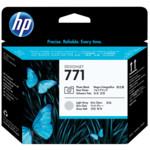 Картридж для плоттеров HP 771 черный/светло-серый