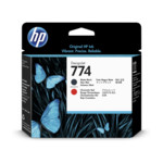 Картридж для плоттеров HP 774 Matte Black/Chromatic Red Printhead