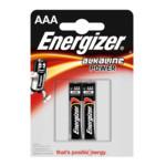 Батарейка Energizer LR03 AAA Energizer POWER Alkaline - 2 штуки