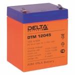 Сменные аккумуляторы АКБ для ИБП Delta Battery DT 12045 12V4.5Ah
