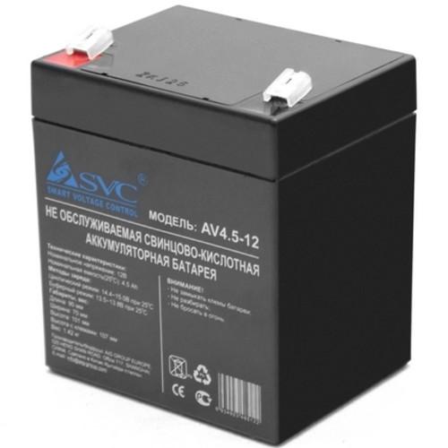 Сменные аккумуляторы АКБ для ИБП SVC NP 4.5-12 (NP 4.5-12)