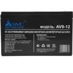 Сменные аккумуляторы АКБ для ИБП SVC 12В/9 Ач
