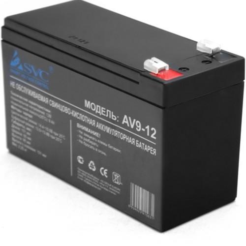 Сменные аккумуляторы АКБ для ИБП SVC 12В/9 Ач (12В/9 Ач)