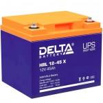Сменные аккумуляторы АКБ для ИБП Delta Battery HRL 12-45 X