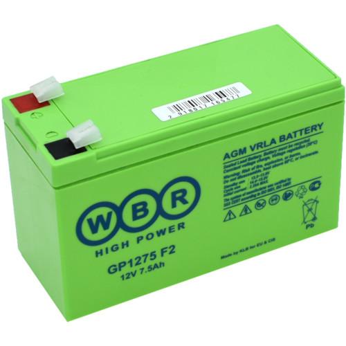 Сменные аккумуляторы АКБ для ИБП WBR GP1275 F2 (GP1275 F2)