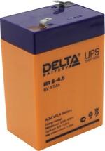 Сменные аккумуляторы АКБ для ИБП Delta Battery Аккумуляторная батарея Delta HR 6-4.5