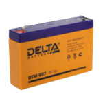 Сменные аккумуляторы АКБ для ИБП Delta Battery DTM 607