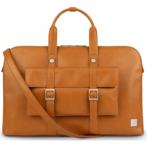 Treya Briefcase Caramel Brown