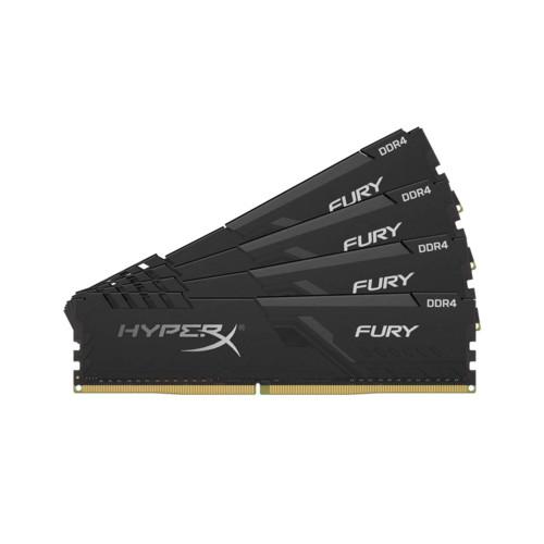 HyperX Fury 32GB 2400MHz DDR4 CL15 DIMM (Kit of 4)