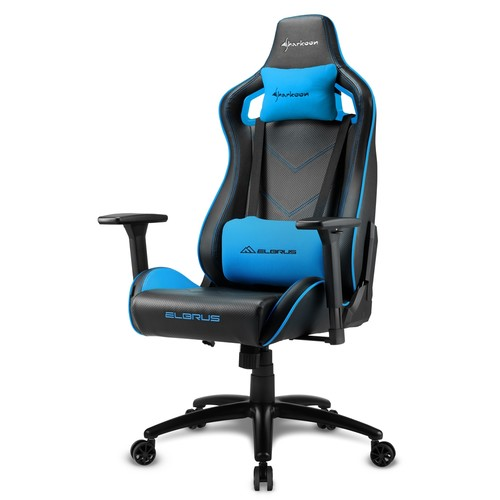 Компьютерная мебель Sharkoon ELBRUS 2 Black/Blue (ELBRUS 2 BK/BU)