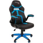 Компьютерная мебель Chairman game 18 Black/Blue