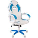 Компьютерная мебель Chairman game 16 White/Blue