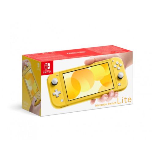 Аксессуары для телефона Nintendo Консоль Switch Lite Yellow (045496452704)