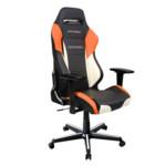 Компьютерная мебель DXRacer Игровое кресло Drifting Black-Orange-White