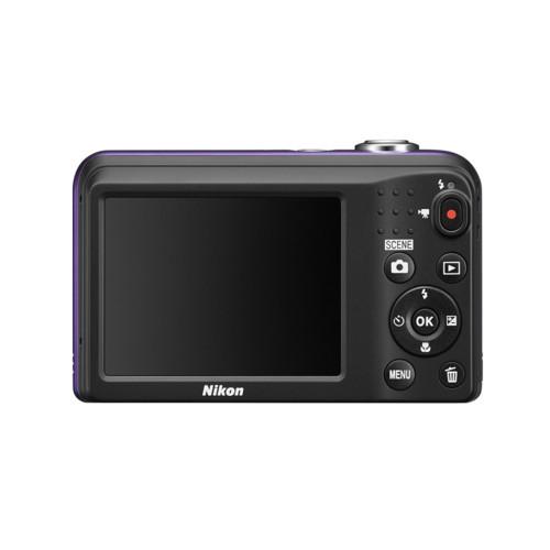 Фотоаппарат Nikon CoolPix A10 - Violet (VNA983E1)