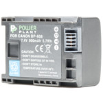 Аксессуар для фото и видео PowerPlant Canon BP-808 Chip 900mAh
