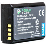 Аксессуар для фото и видео PowerPlant Canon LP-E10 1200mAh