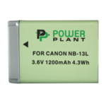 Аксессуар для фото и видео PowerPlant Canon NB-13L 1200mAh