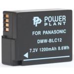 Аксессуар для фото и видео PowerPlant Panasonic DMW-BLC12, DMW-GH2 1200mAh