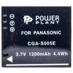 Аксессуар для фото и видео PowerPlant Аккумулятор Panasonic S005E, NP-70 1200mAh