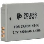 Аксессуар для фото и видео PowerPlant Аккумулятор Canon NB-5L 1200mAh