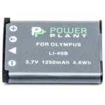 Аксессуар для фото и видео PowerPlant Аккумулятор Olympus Li-40B