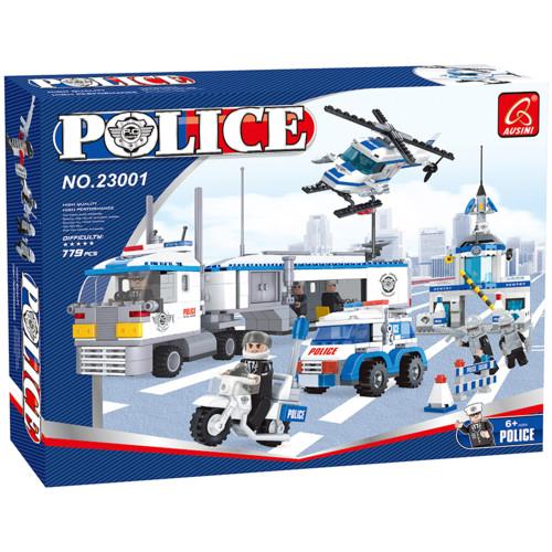 Аксессуар Ausini Игровой конструктор Патруль: Большой мобильный штаб полиции (23001)