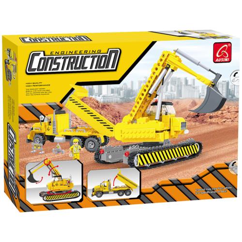 Аксессуар Ausini Игровой конструктор Строители: Строительная техника (29901)