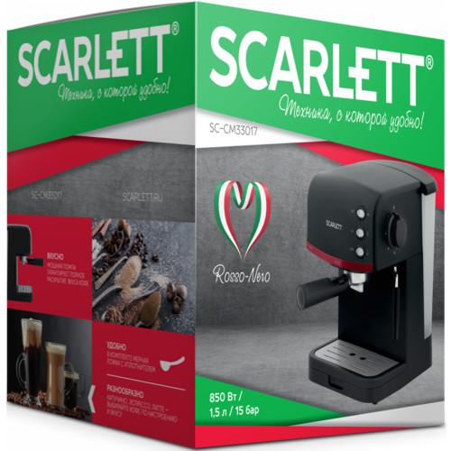 Кофемашина Scarlett Кофеварка рожковая SC-CM33017 (SC-CM33017)