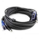 Аксессуар для сетевого оборудования D-link комплект кабелей для KVM переключателя,1,8м