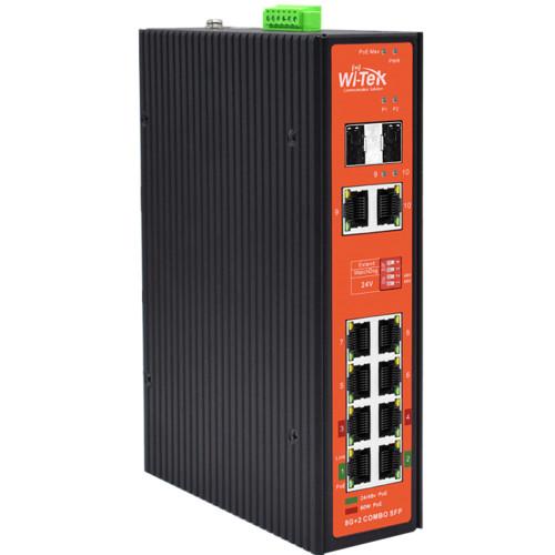 Коммутатор Wi-Tek WI-PS310GF-I (WI-PS310GF-I)